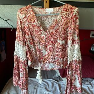 NWOT Kendall and Kylie Crop Top
